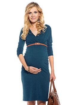 My Tummy Vestito premaman Carla verde scuro XL (X-large) My Tummy http://www.amazon.it/dp/B00NO38Y1W/ref=cm_sw_r_pi_dp_0imNwb01KGH0W