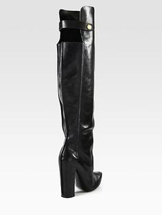 Alexander Wang - Kolfinna Leather Over-The-Knee Boots - Saks.com