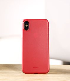 Perfect Black Thin iPhone X Protective Case Cover IPS102_11