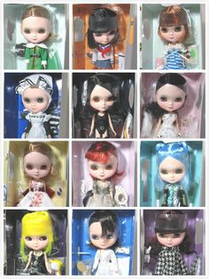 "Här finns nästan all olika Icy blythedockor!! Y 06 ARKER ICY DOLL 12"" COSER GIRL FIGURE DIFFERENT DRESS/COSTUME TO CHOOSE !!!"