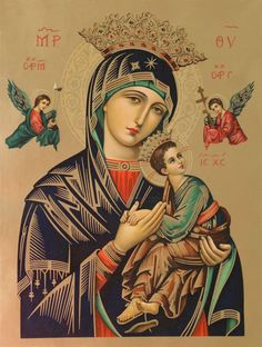 Blessed Mother Mary, Divine Mother, Blessed Virgin Mary, Religious Images, Religious Art, Religious Icons, Mother Mary Images, Images Of Mary, Jesus Christ Drawing