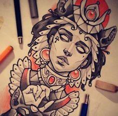 Egyptian tat idea