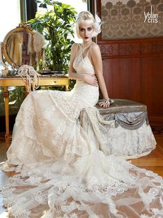 Fashion Friday: Yolan Cris 2013 'Seven Promises' Stunning Bridal Collection   Boho/Hippie Chic. . . Lovely lace works no matter what the source of inspiration! Fresh and creative. . .