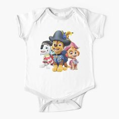 'Paw Patrol fun' Kids Clothes by StefaniaAlina Cool Kids Clothes, Cool Baby Stuff, Paw Patrol, Simple Dresses, Dressing, One Piece, Printed, Awesome, Fabric