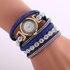 Fashion Crystal Strap Bracelet Watch