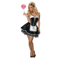 Results 661 - 720 of Find sexy Halloween costumes for women, men, and plus-size right here! Shop our selection for the best sexy Halloween costume ideas around! A revealing, sexy costume is sure to make your Halloween or cosplay event a memorable one. Costume Alice, Sexy Halloween Costumes, Adult Halloween, Awesome Costumes, Women Halloween, Halloween 2017, French Maid Dress, French Maid Costume, Cosplay Maid