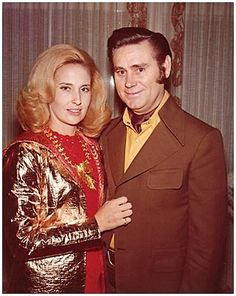"""Tammy Wynette -- (1942-1998). Country Music Singer-Songwriter. Best known for song """"Stand By Your Man"""" and George Jones -- (1931-??). Country Music Singer"""