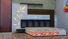 Simple Bedroom Design, Bedroom False Ceiling Design, Bedroom Bed Design, Bedroom Furniture Design, Bed Furniture, Lcd Unit Design, Bed Back Design, Double Bed Designs, Living Room Partition