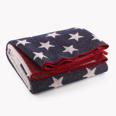 OriginCrafts - American Flag Wool Throw, $190.00 (http://origincrafts.com/american-flag-wool-throw/)