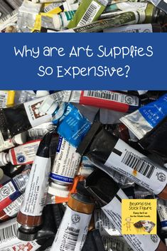 Overwhelmed with the options and prices of art supplies? It's important to remember one simple rule: quality over quantity when choosing art supplies. Artists For Kids, Art For Kids, Music Lessons, Art Lessons, Simple Rules, Stick Figures, Creative Kids, Art Activities, Art Music