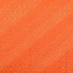 Lycra Purpurina Naranja Fluor