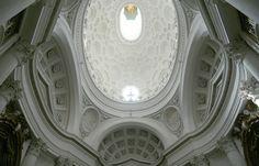 S. Carlo alle Quattro Fontane, Roma Borromini, 1638-1646 (interior)