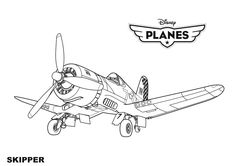 Excellent Photo of Airplane Coloring Page . Airplane Coloring Page Disney Planes Skipper Coloring Page Free Printable Coloring Pages Airplane Coloring Pages, Family Coloring Pages, Pokemon Coloring Pages, Coloring Sheets For Kids, Cartoon Coloring Pages, Disney Coloring Pages, Coloring Pages To Print, Coloring Book Pages, Kids Coloring