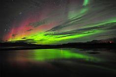 Aurora boreal, Kiruna , Suécia