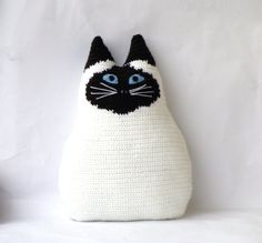 Personalized cat  cat pillow by your own design  by zolayka, $55.00