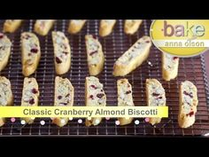 (34) Biscotti Recipes | Bake with Anna Olson - YouTube