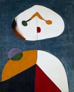 Joan Miró, Portrait II (Retrato II), 1938 Oil on canvas