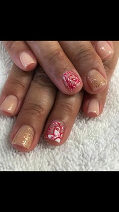 One of my fave manis ever! Thy at L'envie in Redlands is amazing!