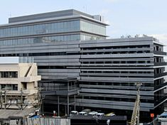 研ぎ出しプレキャストコンクリート板 名古屋鉄道 鉄道センタービル nikken