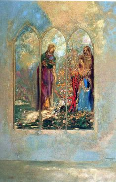 Window. Odilon Redon