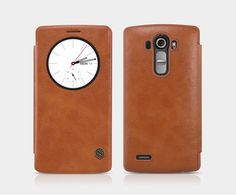 Leather Smart Flip Wallet Pouch Cover Case for LG G4