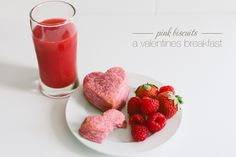 Pink Biscuits | A Valentines Breakfast