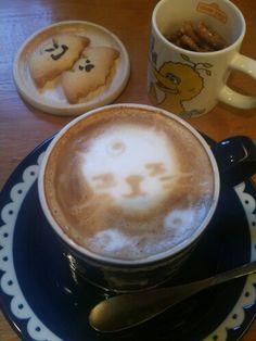 할로윈데이기분내며 커피한잔~~