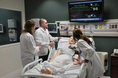 Mannequins and Other Simulation Technology Becoming More Common in Medical Education #loyola #simulators