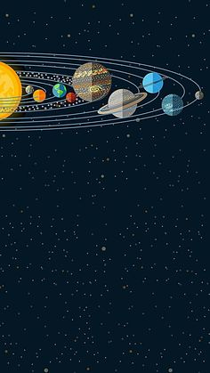 Space Phone Wallpaper, Planets Wallpaper, Wallpaper Iphone Cute, Galaxy Wallpaper, Screen Wallpaper, Cool Wallpaper, Cute Wallpapers, Space Planets, Space And Astronomy
