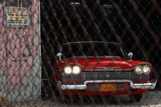 The most evil thing on 4 wheels. Christine. 1958 Plymouth Fury