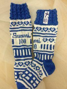 Pihakoivu-sukat | ET Wool Socks, Knitting Socks, Cornishware, China, Mittens, Gloves, Slippers, Villa, Crochet