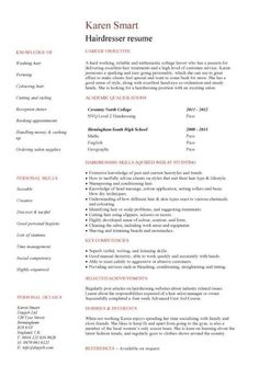 hair stylist assistant resume sample http jobresumesample com