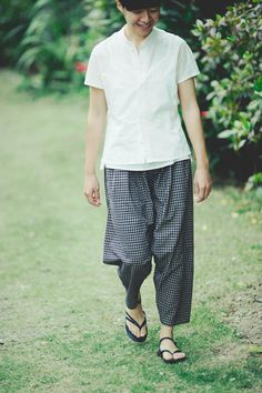 Trousers Made of Indian Cotton