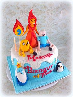 adventure time cake - Google Search