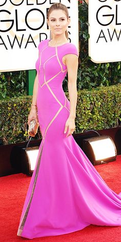 Maria Menounos - 2014 Golden Globes: Red Carpet Arrivals - Golden Globes 2014 - Celebrity - InStyle