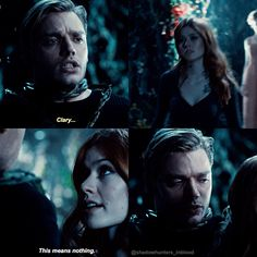 "#Shadowhunters 2x14 ""The Fair Folk"" - Clary and Jace"