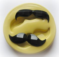 Mustache Silicone Mold Flexible Moulds
