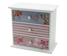 Cutie cu 3 sertare pentru bijuterii Vintage Dream