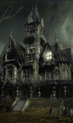 The allure of haunted houses is a strong one. As we head into Halloween season, we've put together a list of thirteen of the scariest haunts out there. Creepy Houses, Spooky House, Haunted Houses, Haunted Mansion, Halloween Images, Halloween Art, Halloween Season, Spooky Places, Haunted Places