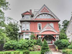 Built in 1885, on The East Side of Providence, Rhode Island, the Nicholas B. Young House is a stately Queen Anne Victorian boasting the finest features of this classic architectural style, including a slate roof, dentilled cornices, decorative shingles, and a wonderful combination of peaks and arches.  A beautifully constructed covered porch welcomes you at the front of the home, offering a peaceful outdoor sitting area.  The intricately hand carved door by the main entrance opens to a ...