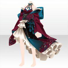 上半身/インナー 玉響華姫和ドレスB紫