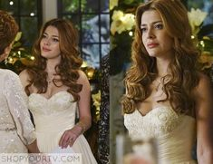 Revenge: Season 4 Episode 14 Louise's Wedding Reception Dress