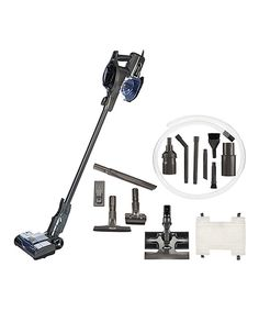 This Black Shark Rocket Ultra Light Upright Vacuum w/ 5 Attachments by Shark is…