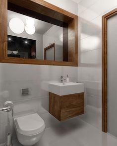 łazienka biała z drewnem - Szukaj w Google