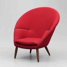 Nanna Ditzel, armchair,  Year 1953,   Manufacturer Kolds Savverk