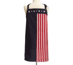 Wear your Patriotic Stars + Stripes Men's apron for your next Cookout! Aprons For Men, Patriotic Party, 4th Of July, Stripes, Stars, How To Wear, Men's Apron, Potholders, Usa