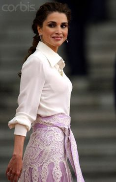 Queen Rania of Jordan by alhamish, via Flickr