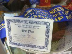 Morisset Show. 1st place ASC Fruit Cake