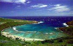 Hanauma Bay, Oahu - GrMa says MUST do (and see sinkhole on the way there!)