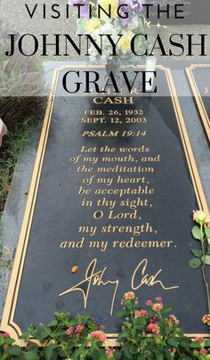 The top of the list task for any Johnny Cash fan. Visiting the Johnny Cash Grave and Homesites. We did it! Here is what we saw.